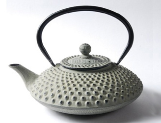 High Capacity Enamel Cast Iron Kettle with Filter BSCI LFGB FDA Approved