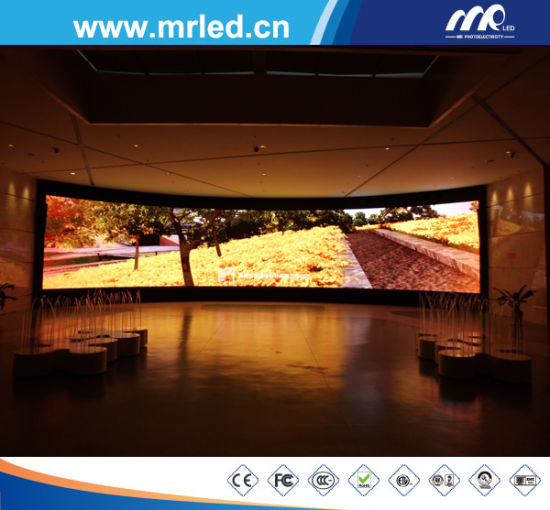 HD Intelligent UTV1.875mm Fixed Indoor LED Display Sale by Mrled pictures & photos