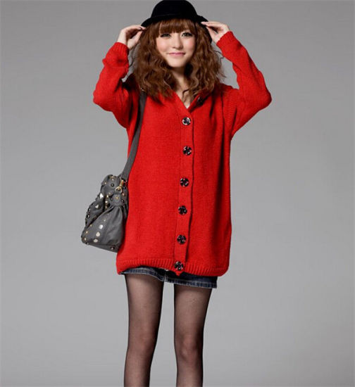 c706b52705 Latest Fashion Winter Women′s Long Cardigan Sweater Winter Single Breasted  Warm Knitting Coat pictures