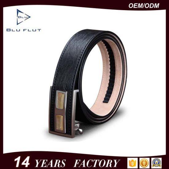 Men's Genuine Ostrich Leather Belt Rhinestone Ratchet Belt
