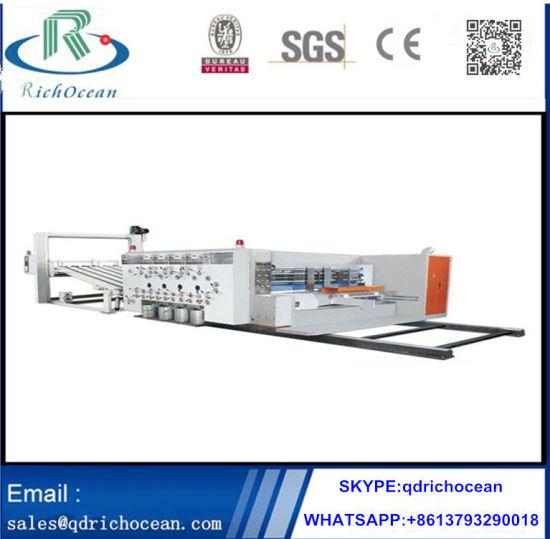 Multi Functional Corrugated Carton Printing Machine