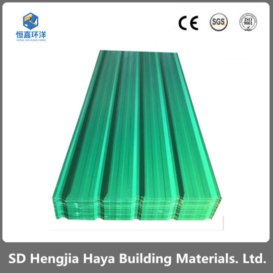 Hot Dipped Steel Sheet/Prepainted Galvanized Corrugated Steel Roofing Sheet (PPGI)