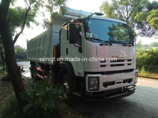 China Isuzu Ce 8X4 Tipper Loading 30 to 40 Ton pictures & photos