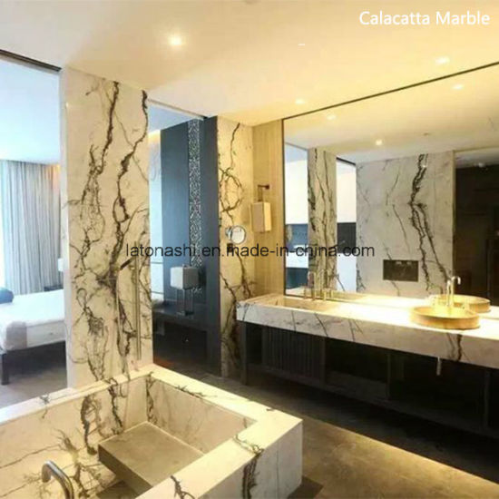 Imported Calacatta White Marble Cut To Size For  Floors/Steps/Countertops/Vanity Tops/Bathroom Tiles