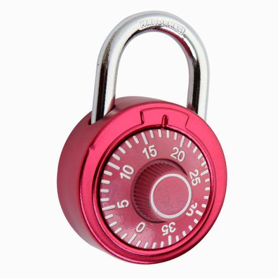 (XA211) Steel Body Safe Door Combination Lock Security Zinc Alloy Dial  Padlock 4 Digit Lock Cylinder