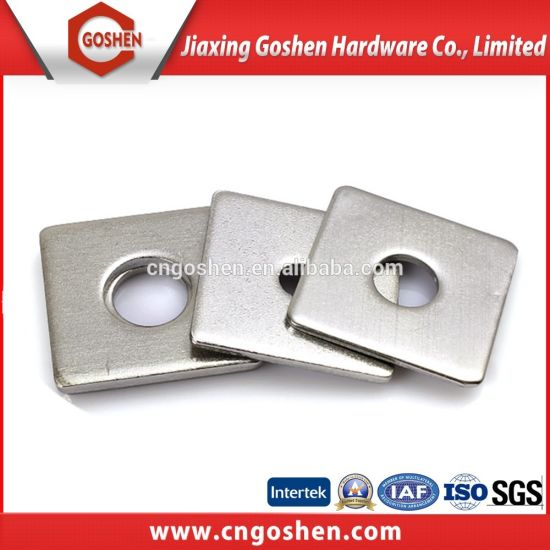 Stainless Steel Square Washers for Use in Timber Constructions pictures & photos