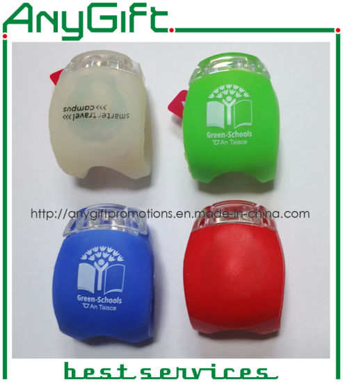 Silicone Bike Light with Customized Color and Logo