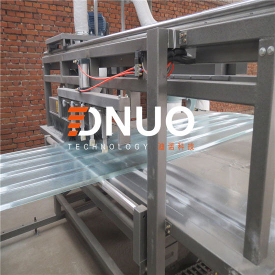 2-12m/Min High Speed FRP GRP Roof Lighting Sheet Machine Made by Dnuo Technology China