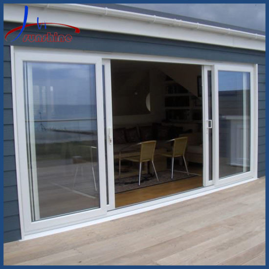 Latest Designs Balcony PVC Sliding Doors Large Design PVC Doors