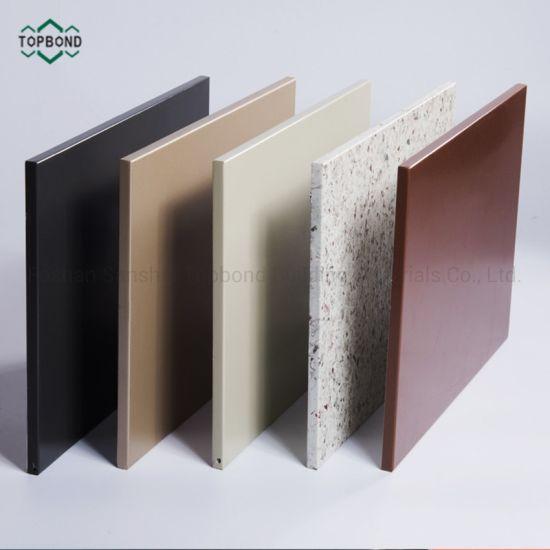 Decorative Aluminum Honeycomb Sandwich Panels for Exterior Facade