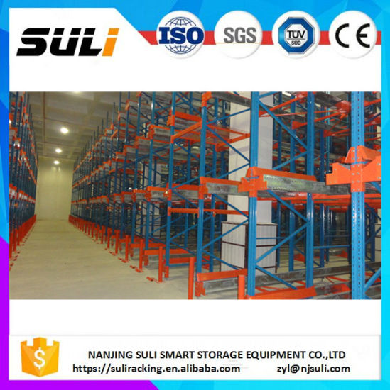 High Quality Automatic Radio Shuttle Storage Pallet Racking for Warehouse pictures & photos