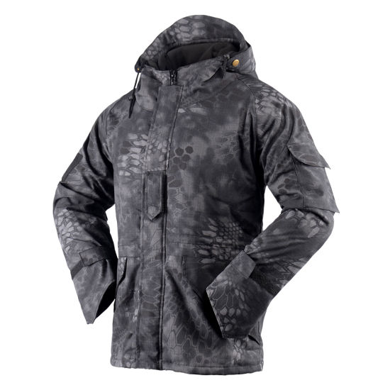 2b5a68db688e6 China New Leaf Camo Men′s Outdoor Hunting Waterproof Jackets Hoodie ...