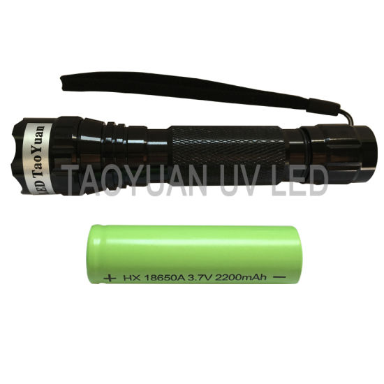 Mini Used for Testing 395nm 3W UV Torch Light pictures & photos