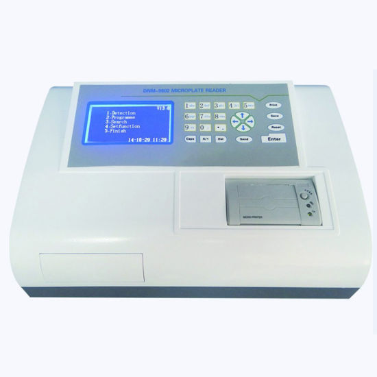 Hospital Microplate Reader Dnm-9602 with 8 Channel Optical System