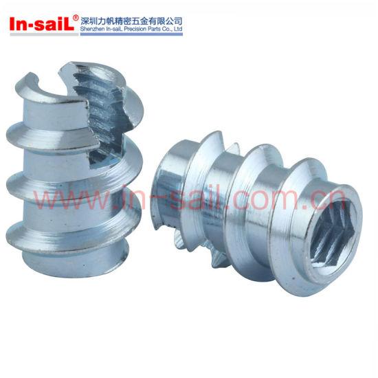 China Ldin7965 Fastener Stainless Steel M6 Thread Insert