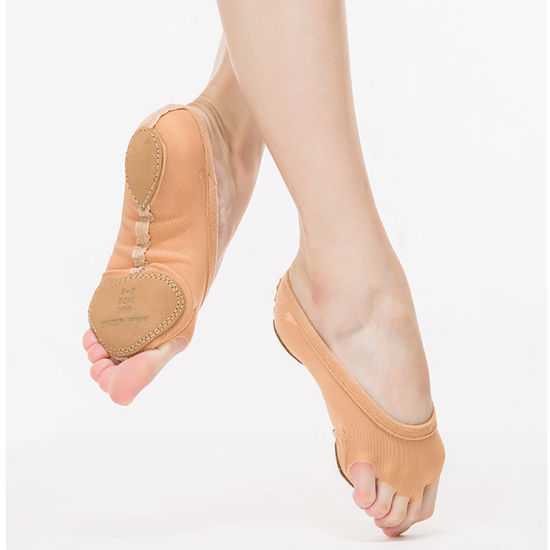 Factory Foot Undies Half Lyrical Shoes Dance Diamond Forefoot Protector