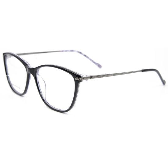 China Women Diamond Durable Designer Glasses Acetate Eyeglass Frame ...