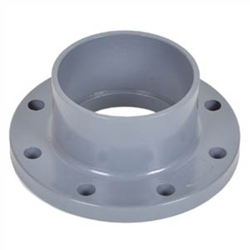 High Quality Plastic Flange PVC Ts Flange UPVC Pipe Fitting Van Stone Flange UPVC Two Pieces Flange UPVC Butterfly Valve Flange DIN Standard for Water Supply