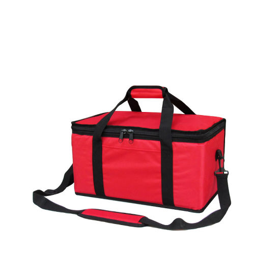 Food Delivery Bag, Insulated Durable Can Keep Temperature 24 Hour, BBQ Bag, Delivery Bag, Cooler Bag