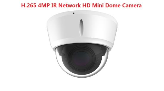 Fsan 4MP IR Infrared Waterproof Vandal-Proof HD Network Metal Dome IP Camera
