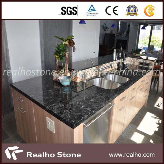 China Black Granite Stone Table Top Countertops For Kitchen Bathroom China Countertop Granite Countertop
