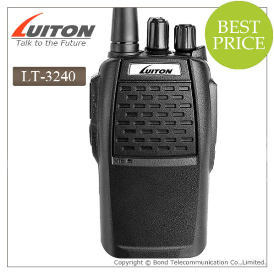 Professional Walkie Talkie Lt-3240 Two Way Radio pictures & photos