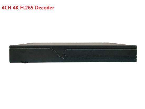 Fsan H. 265 4CH 4K HDMI UHD Splicing on Wall 2MP HD Decoding Decoder