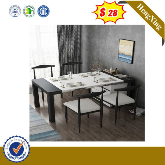Fashion Glossy Bedroom Luxury Particle Garranty Quality Room Table (IMG-6684)