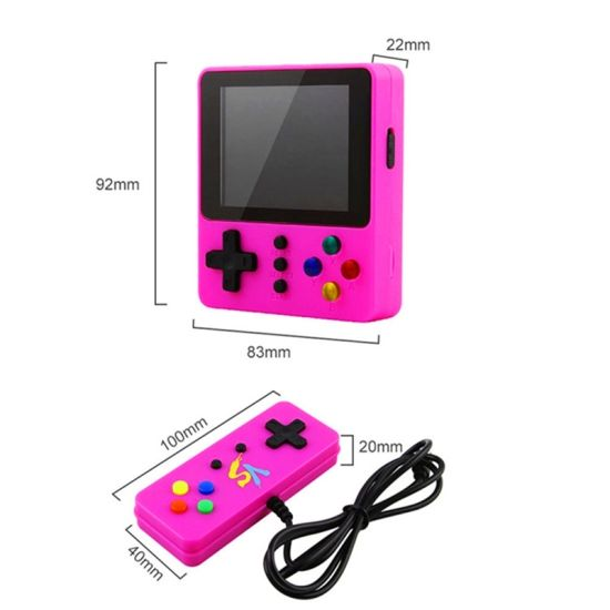 Good Quality Mini TV Handheld Game Player Built-in 500 Classic Retro Games Portable Children's Video Game Console Gift for Kids