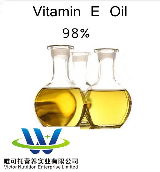 Food Pharma Grade/Vitamin E Oil 98%/ Dl-Alpha-Tocopheryl Acetate/Ve Oil