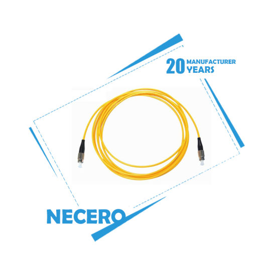 Necero Indoor FTTH Drop Cable/ 2 Core Fiber Optic Cable for Internet Patch Cord Manufacturers Directly Export pictures & photos
