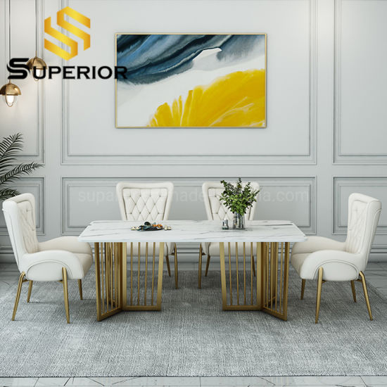 China Modern Table Marble Dining, American Made Dining Room Chairs