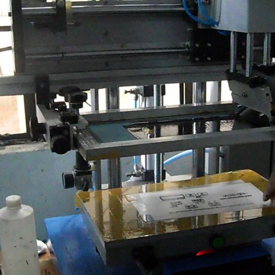 Tabletop Flat Screen Printing Machine pictures & photos