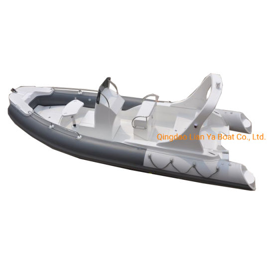 115HP 10 Persons Marine Entertainment Compressible Rib Boat