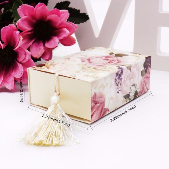 Small Sliding Bracelet Paper Cardboard Drawer Gift Packaging Storage Box
