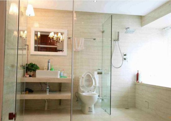 8-12mm Safety Toughened Glass for Bathroom Partition