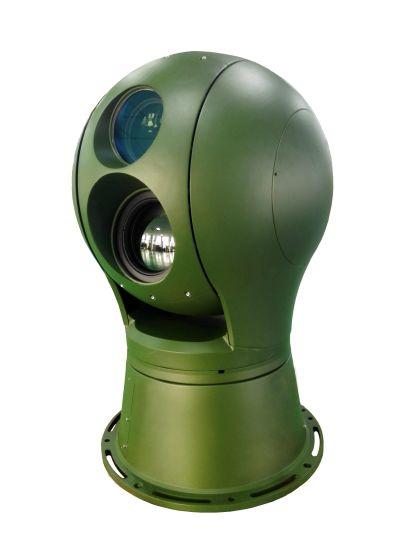 3-15km Long Range Electro Optical PTZ Infrared Thermal Imaging Surveillance Camera