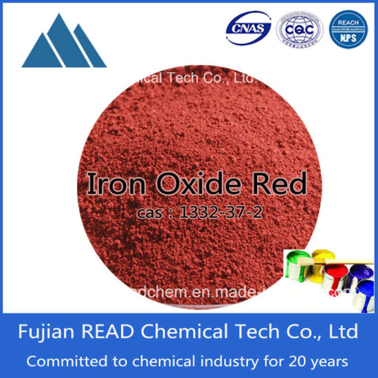 High Quality Colorful Inorganic Coating Antirust Pigments S130 Iron Oxide Red Builing Paint Rubber