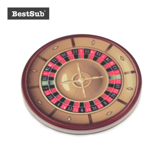 Bestsub Sublimation Personalized Casino Poker Chip (BPC47)