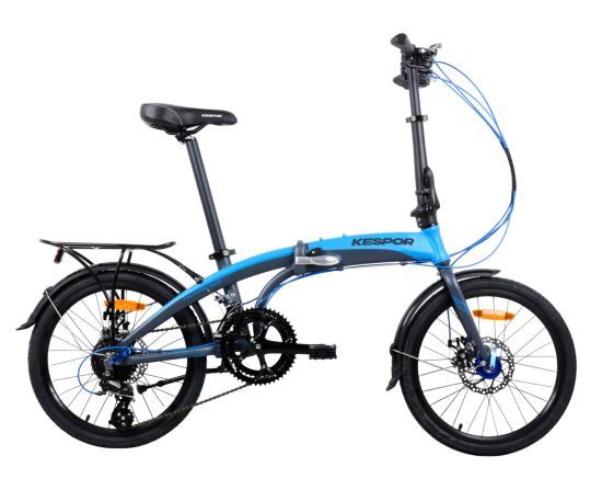Disc Brake Dolphin Style Frame Folding Bike