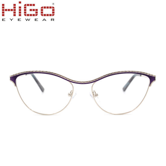 Fashion Cat Eye Stainless Steel Optical Frame Manufacturer in China