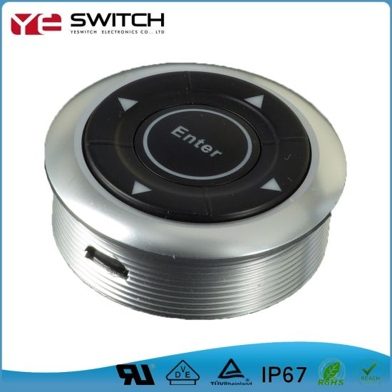 Electric IP65 Waterproof Sp5t Power Navigation Light Switch for Automotive  Parts