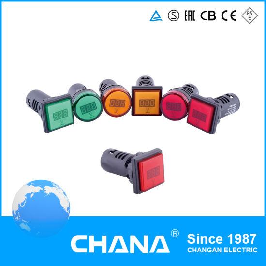 LED Indicator AC80V-500V Digital Display Light Meter Voltage Ampere