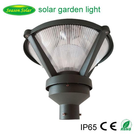 Solar Powered LED Energy Saving Driveway Aluminum Solar Path Courtyard Light Outdoor Garden Light