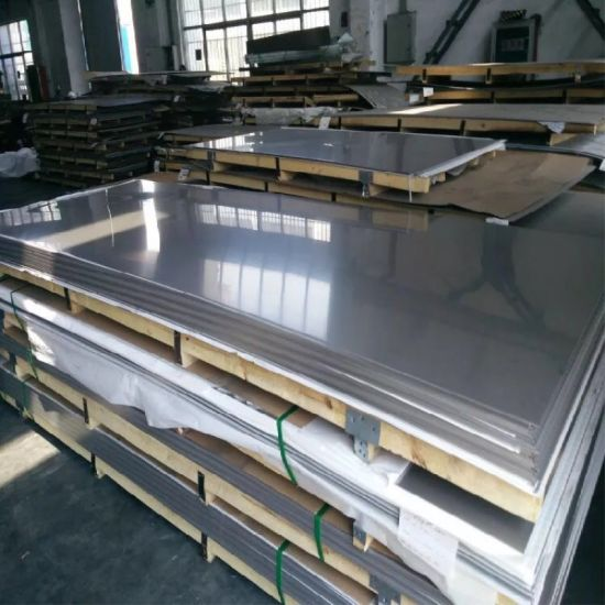 AISI 4'x8' (201/304/304L/316/316L/310S/321/410/430) Stainless Steel Sheet with 2b/Ba Finish