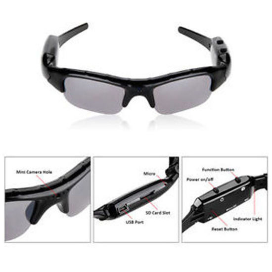 Hot Selling Full HD Video Audio Recorder Sunglasses All Types Super Mini Camera pictures & photos