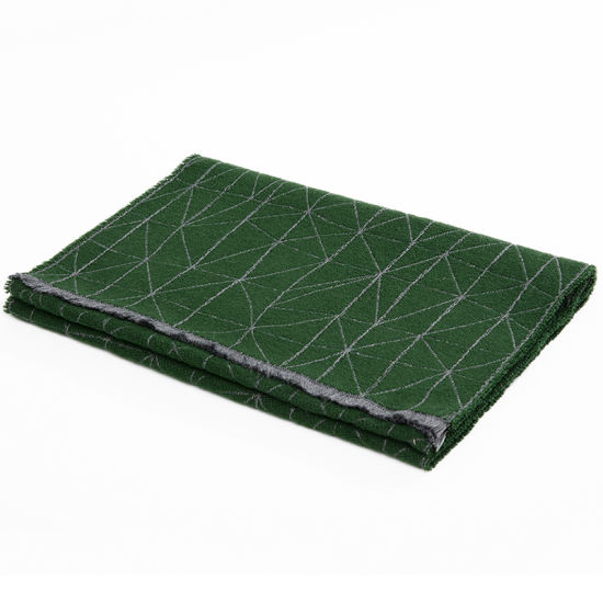 New Material Long Green Winter Scarf Fashion Accessory for Men