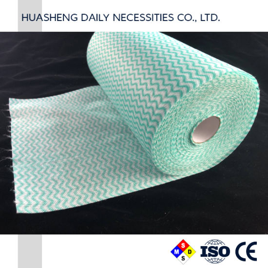 Daily Use Nonwoven Spunlace Kitchen Wipes Disposable Dishcloths
