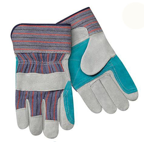 Leather Gloves Cow Split Leather Work Gloves
