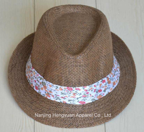 New Design Popular Paper Straw Bucket Hat (HY16051226/HY16051231/HY16051233) pictures & photos